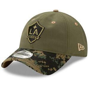 New Era Los Angeles LA Galaxy Military Appreciation Camo 9Twenty Strapback Cap