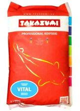 Takazumi Vital Koi Pond Fish Pellet Food 10kg  feed down to 4c Winter Food