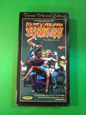 REDNECK ZOMBIES   Lloyd Kaufman  ** AUTOGRAPHED**  1996 Troma VHS TAPE