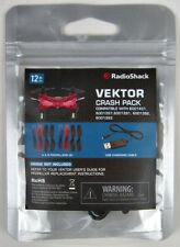 Vektor Drone Crash Pack  A & B Propellers USB Charging Cable Radio Shack