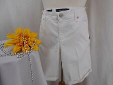 *NWT!~Nine West White Jean Shorts~Stretch~10~
