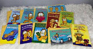 Leanin' Tree Garfield Birthday Card Lot Of 11 NEW