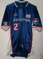 MLS New England Revolution 2000 Atletica Eric Wynalda Away Soccer Jersey