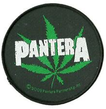 More details for pantera leaf 2003 woven sew on patch official merch - no longer made circular