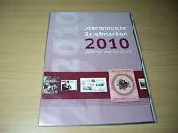 Österreich-Jahresmappe Post 2010 TOP pf** siehe 4 Bilder >