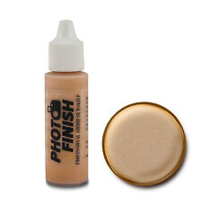 PHOTO FINISH AIRBRUSH MAKEUP FOUNDATION.5oz Cosmetic Face- Fairly Light Luminous