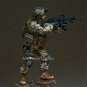 1/35 Mordern Navy US Soldier Resin Kits Unpainted Figure Model GK Unassembled