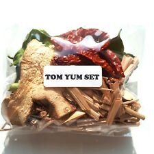 Thai Cuisine Sun Dried Tom Yum Hot & Spice Set Healthy Cooking Local Market Food