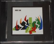 HENRY COW western culture USA CD 2005 new REMASTERED art bears CHRIS CUTLER