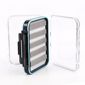 Clear Lid Fly Box, Two Sizes, for storing fishing flies, great fly fishing gift