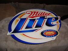 Miller Lite Neon Beer Sign Plastic Logo, True Pilsner Beer Logo only