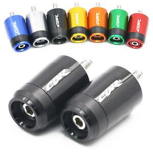"""2pcs 7/8"""" Handlebar Grip End Weight Cap Plug Cover For Honda CBR600RR CBR1000RR"""