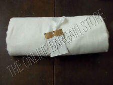 Pottery Barn Linen Hemstitch Tablecloth Kitchen Dining Room Table White 70x108