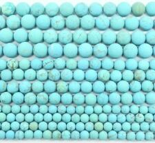 Turquoise Matte Gemstone Round Spacer Beads 4mm 6mm 8mm 10mm