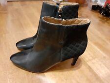Capollini - ladies leather ankle boots - black - 6.5 - BNWOT