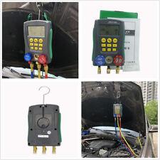 DLG AC Manifold Digital Manifold Gauge Refrigeration System Pressure Gauge HVAC