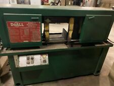 Doall C 9 Band Saw Cuts Up To 16 Works Great Metal Saw Machine Shop Closing