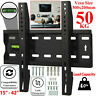 Flat TV Wall Mount Fixed Bracket For 15 20 23 25 28 30 32 38 40 42 Inch LED LCD