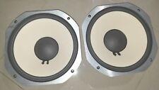 PAIR of JBL LE10H-1 woofers speakers _fresh refoamed