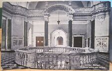 Irish Postcard Belfast City Hall Landing Marble Northern Ireland We Walton 1920s