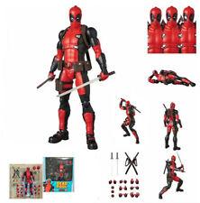 Mafex 082 Marvel X-Men Deadpool Comic Ver Model Action Figures Medicom KO Toy