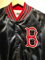 VTG Boston Red Sox Jacket 1980's Chalkline Made In USA 🔥 On Field