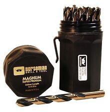 NEW Norseman CTD 44170 29pc Jobber Drill Bit Set Magnum Super Premium SP-29P USA