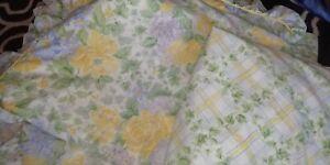 Vintage St Michael M & S Frilled Duvet Cover Single Sheet & Pillow Case , Unused