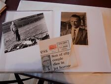 DISASTERS AIR  RAIL & SEA 70 PRESS WIRED PHOTOGRAPHS LOOSE FILLED IN ALBUM