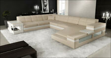Wohnlandschaft Designer Sofa Couch Big Polster Leder Sofas Eck Ecke Sitz PH3006