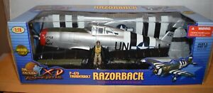 ULTIMATE SOLDIER 10162 1:18 P-47D THUNDERBOLT RAZORBACK 'HUCKLE DE BUCK' 405TH
