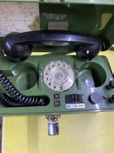 5805-99-966-0006 Untested British Army TMC LTD UK PTC 405 Field Telephone  NSN