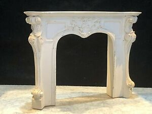 Vintage Dolls House Quality 1/12 Fireplace Surround C855