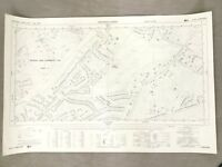 Old Surrey Map Frimley Camberley Heath Golf Club 1960s Vintage Maps