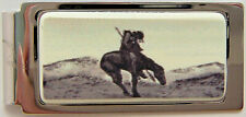 Money Clip Barlow Photo Reproduction End of Trail Hinged Silver Horse 526410 n
