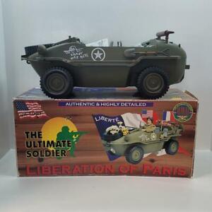 Ultimate Soldier WW2 1/6 German Schwimmwagen Liberation of Paris 21st 12904