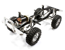 C25330SILVER Integy Billet 1/10 Type D90 Roller 4WD Off-Road Scale Crawler ARTR