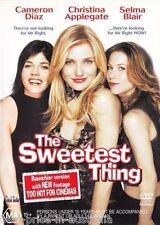 The Sweetest Thing DVD Cameron Diaz Christina Applegate Selma Blair R4