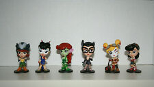 DC Lil Bombshells Series Harley Catwoman Hawkgirl Katana Mini Figure Lot of 6
