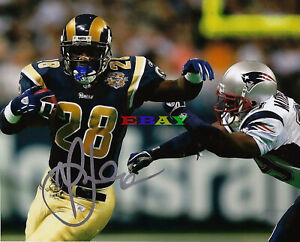 Marshall Faulk  St. Louis Rams  Signed 8x10 Autographed Photo Reprint