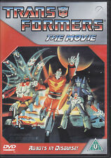 Trans Formers The Movie (1986) Transformers animated feature film  UK R2 DVD