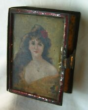 1846-s Antique litho soap tin box Ralle&Co imperial Russia Russian Moscow rare