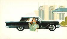 1959 Ford Thunderbird Hardtop Dealer Advertising Postcard