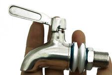 Stainless Steel Faucet Tap for Home Brew Barrel Kegs Fermenter Wine Beer Fridge