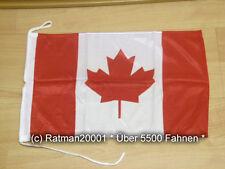 Fahnen Flagge Kanada Canada Bootsfahne Tischwimpel - 30 x 45 cm