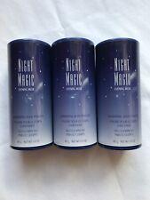 AVON NIGHT MAGIC EVENING MUSK SHIMMERING BODY POWDER (3) WITH FREE SHIP