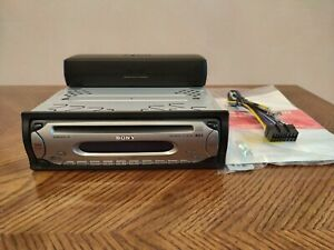 SONY CDX-SW200 IN DASH AM/FM CD PLAYER RECEIVER