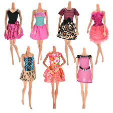 7x  Fashion Wedding Dresses Party Gown Clothes Outfits For Barbies Girls Lovely