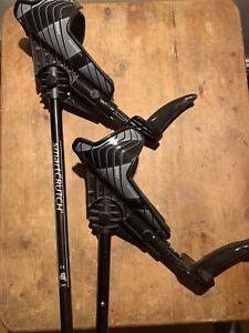 SmartCrutch (Pair) black- Used 4 Times