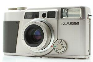 【 Excellent+4 】Fujifilm Fuji Klasse Silver 35mm Point & Shoot Camera from JAPAN